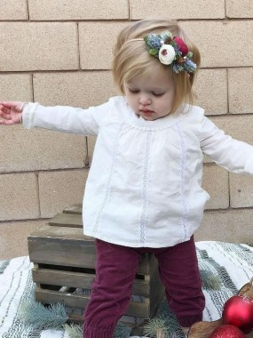 20 Astonishing Christmas Outfits For Small Girls Ideas 26