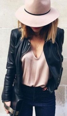 20 Awesome Spring Jacket Outfit Ideas For 2019 22
