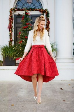 20 Delightful Christmas Outfit Ideas 18