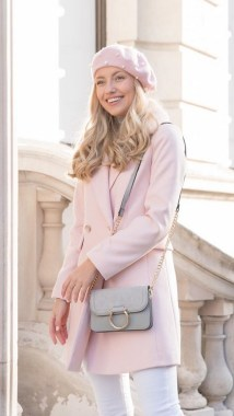 20 Latest Pink Pastel Coat Outfit Ideas 22