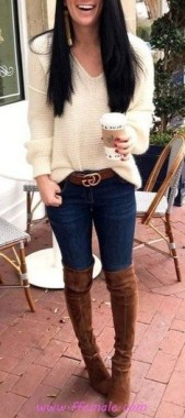 21 Adorable Fall Outfits Ideas To Inspire Yourself 04