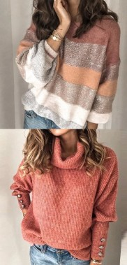 21 Awesome Fall Sweaters Ideas For Beauty Women 20