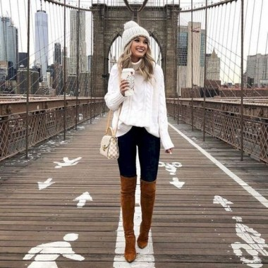 21 Charming Outfits Ideas For Winter 01