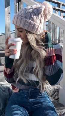 21 Charming Outfits Ideas For Winter 29