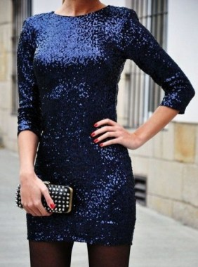 21 Modern Sequined Dresses Christmas New Year Parties Ideas 17