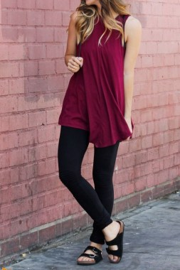 23 Amazing Summer Dresses With Leggings 10
