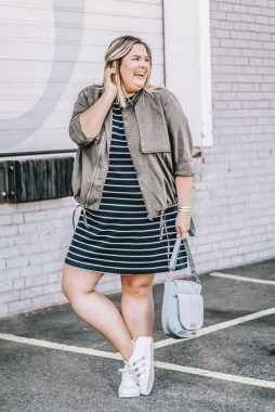22 Tips To Look Chic And Pretty With Plus Size Winter Outfits 18