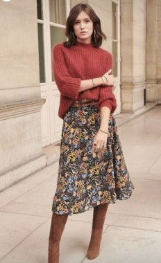 23 Best Casual Skirt For Your Daily Activities During Fall 09