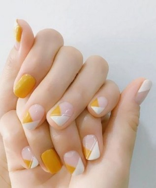 25 Cute And Easy Nail Art Designs No Tools 20