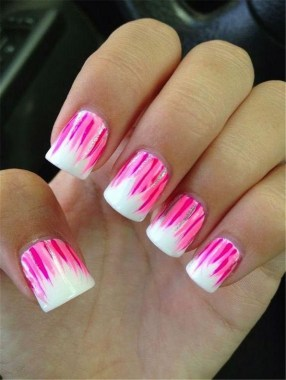 25 Cute And Easy Nail Art Designs No Tools 23
