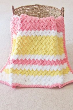 27 Free Fast And Easy Afghan Crochet Blanket Patterns For Beginners 18