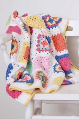 27 Free Fast And Easy Afghan Crochet Blanket Patterns For Beginners 29