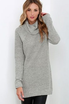 27 Trendy Ways To Wear Knitted Winter Sweaters 22