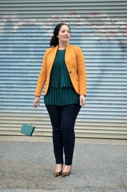 27 Winter Work Outfit Combinations For Plus Size Women 15