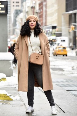 27 Winter Work Outfit Combinations For Plus Size Women 19
