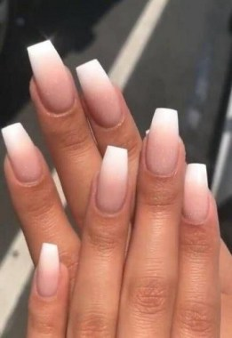 28 Get Gorgeous French Ombre Nails With These Tutorials And Ideas 11
