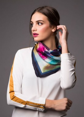 29 Do These To Style Your Fancy Silk Scarves 34
