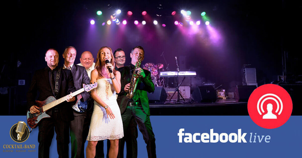 facebook elő cocktail-band