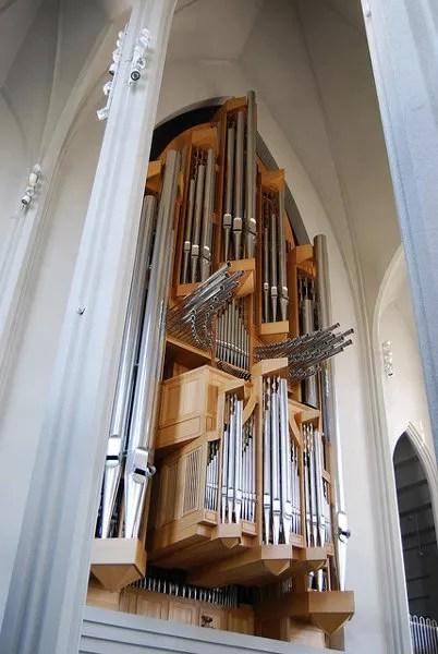 Órgano de la Hallgrímskirkja de Reykjavík