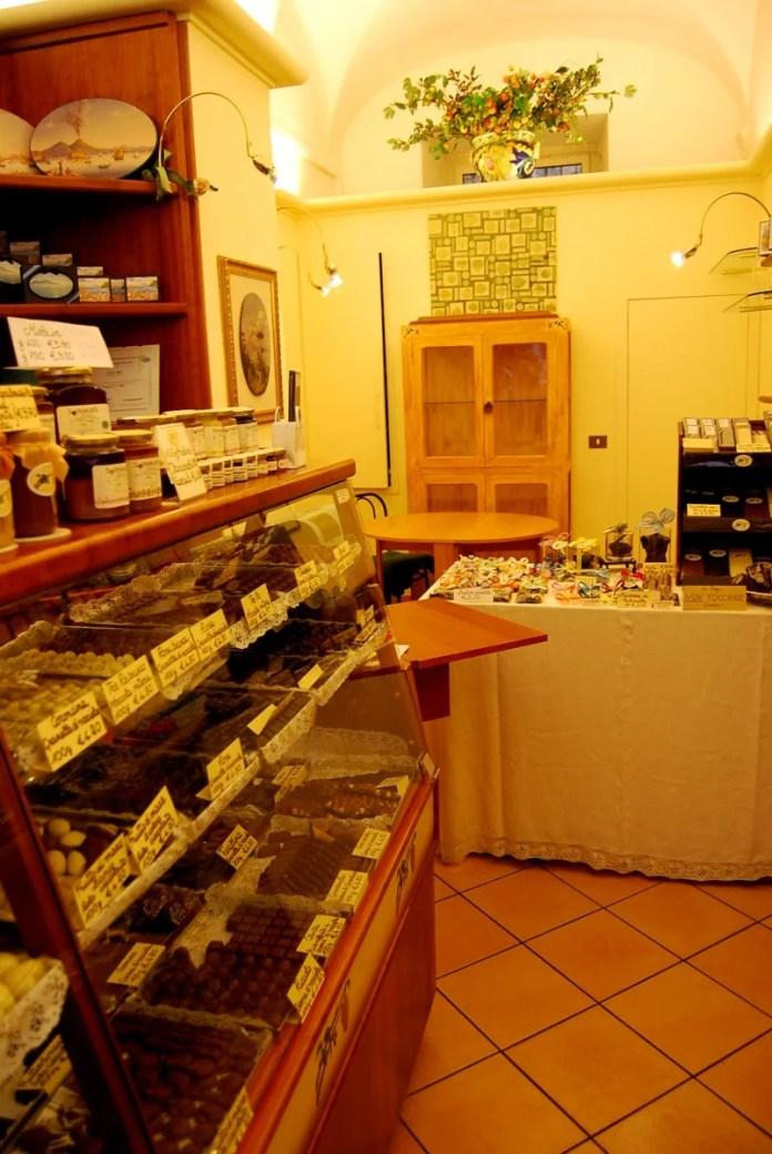 Fotos de Roma, pasteleria Dolce Idea en el Trastevere