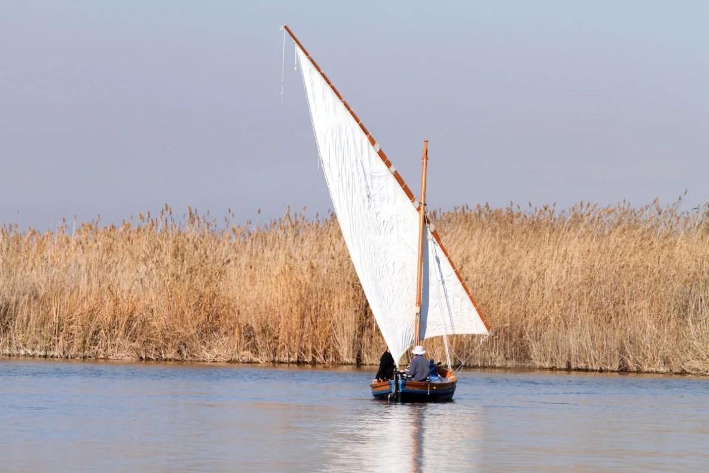 Paseo en barca en la Albufera de Valencia
