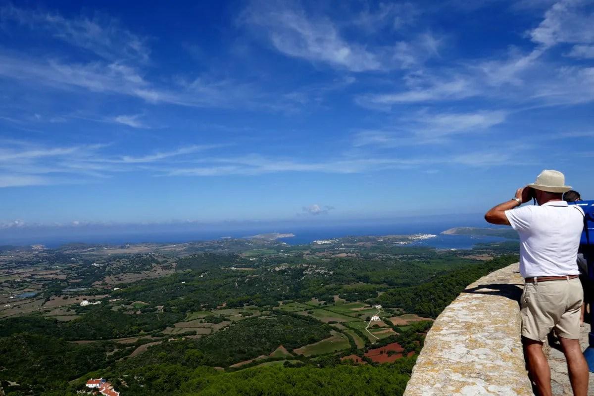 Que ver en Menorca, vistas desde el Monte Toro