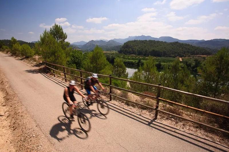 Ciclismo en Via Verda Baix Ebre