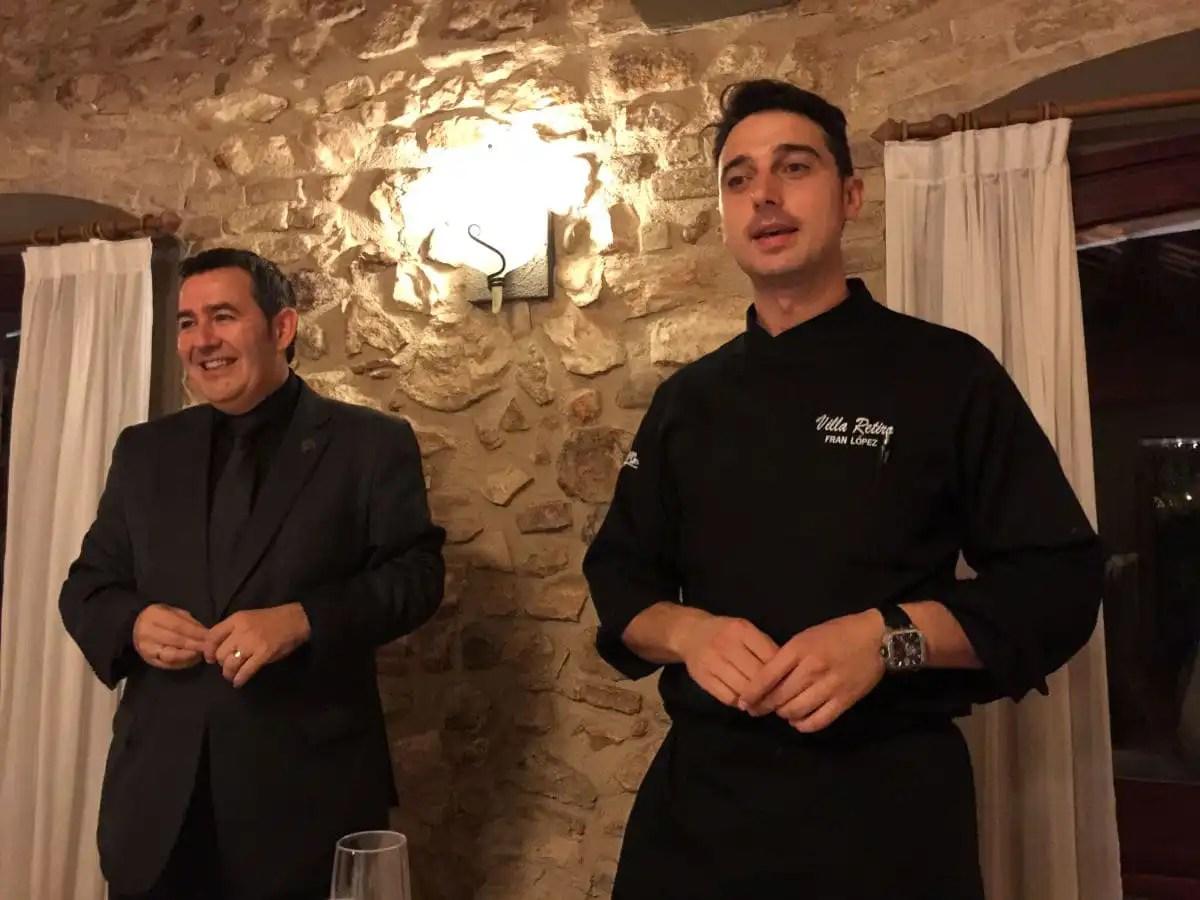 Fran Lopez Restaurante Villa Retiro de Xerta