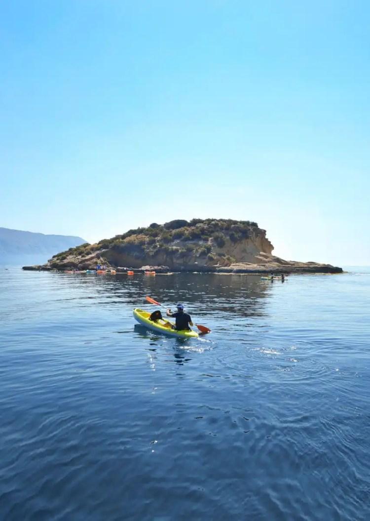 Kayak en Altea