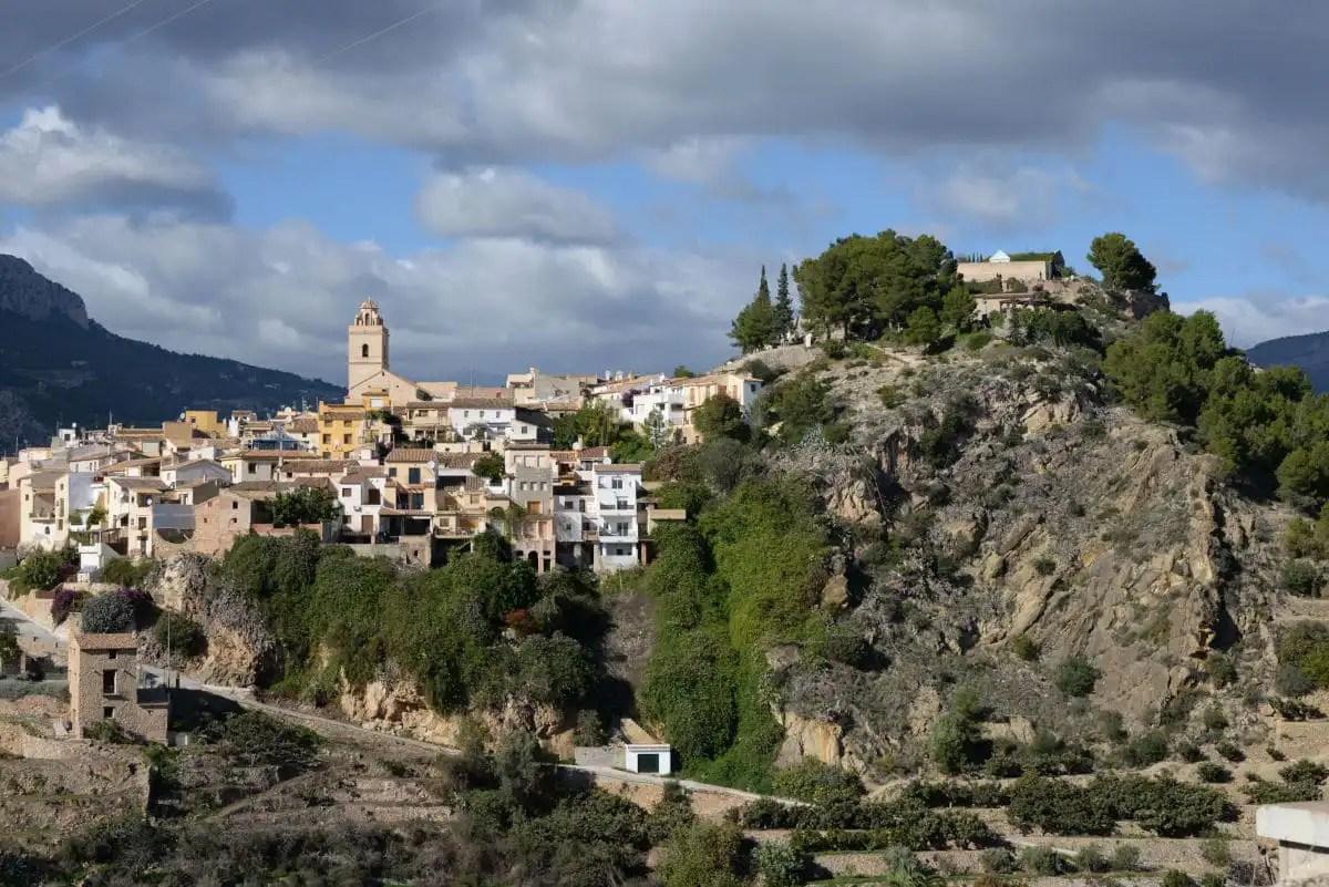 Los pueblos mas bonitos del interior de Alicante, Polop de la Marina