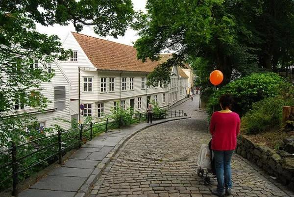 Vero y Teo en el Gamle Stavanger