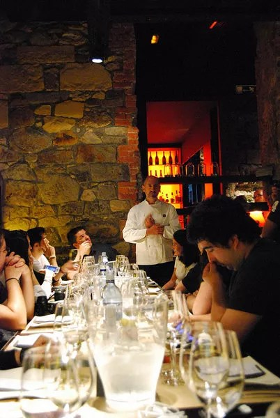 Aitor Elizegi y los blogueros del #eventonomaders Bilbao