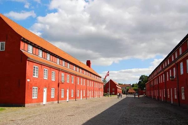 Barracones de Kastellet en Copenhague
