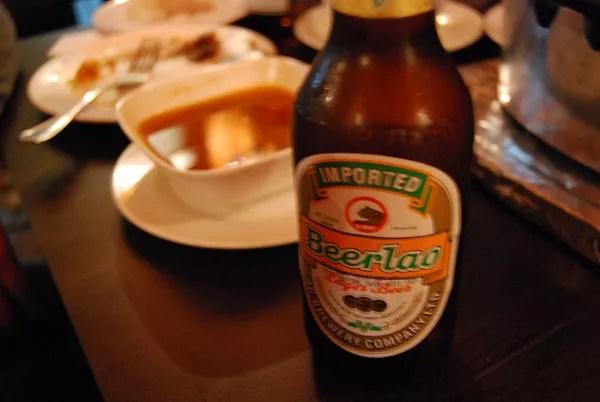 Beerlao, la cerveza de Laos