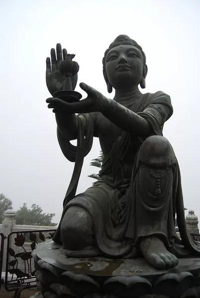 Bodhisattvas del Buda de Tian Tau