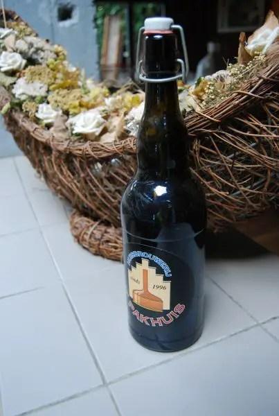 Botella de cerveza 't Pakhuis de Amberes