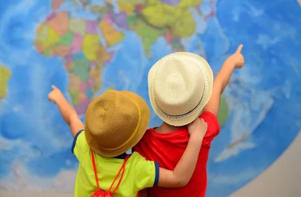 Cómo buscar el destino ideal para viajar con niños