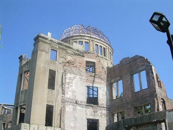 Cúpula Genbaku, edificio destruído por la bomba de Hiroshima