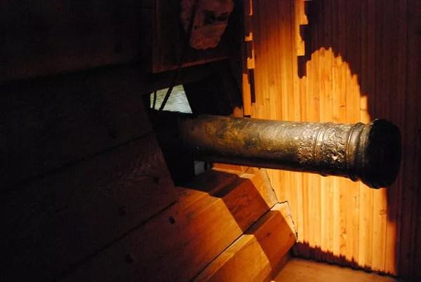 Cañon del Vasa Museet de Estocolmo