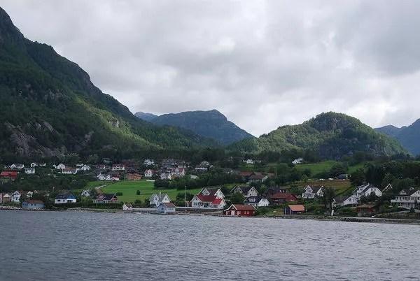 Casitas en el Lysefjord
