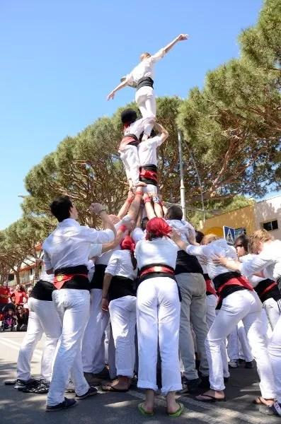 Castellers dels Minyons de Sta. Cristina d'Aro