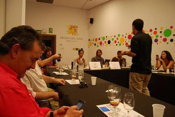 Cata en el Museo del Vino de Málaga