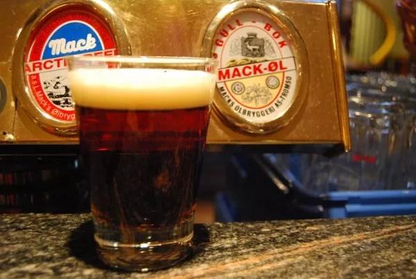Cerveza de barril Noruega La cerveza más al norte del mundo en Noruega