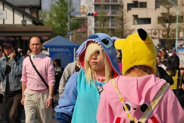 Cosplay en el parque Yoyogi de Tokio