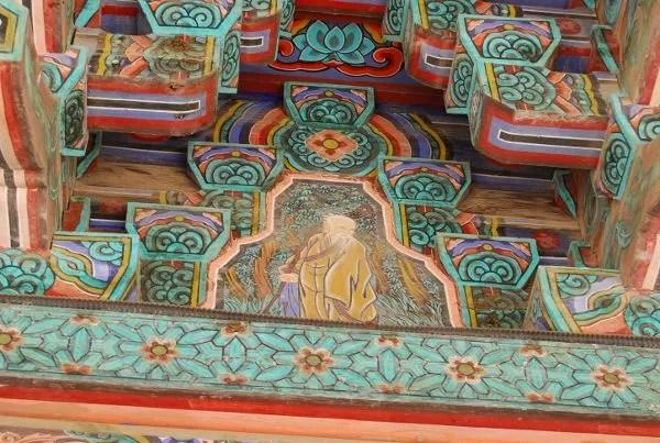 Decoración del templo Bulguksa de Gyeongju
