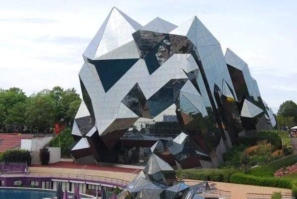 Edificio del Futuroscope de Elpachinko.com