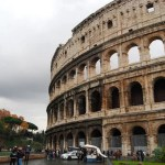 El Coliseo de Roma en Navidad