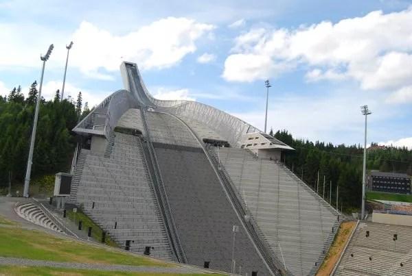 El Holmenkollen de Oslo