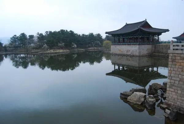 El estanque Anapji de Gyeongju