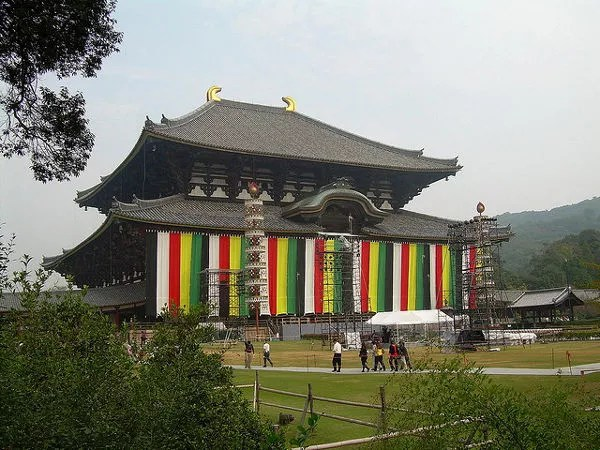 El templo Todai ji de Nara